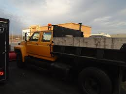 Ford F350 Dump Truck With Plow - 1990 ford f600 dump truck with western 10 foot snowplow for sale