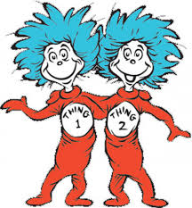 thing 1 and thing 2 coloring pages dr seuss eson me