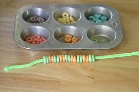 cereal bracelet craft no time for flash cards