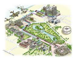 Versailles Garden Map Katherine Baxter Illustrated Maps Illustrated Maps Of New York