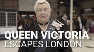 Victoria Meme - queen victoria escapes london red funnel ferries south western