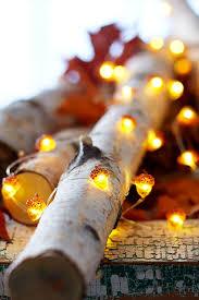 autumn decor 26 cozy fall décor ideas with lights shelterness