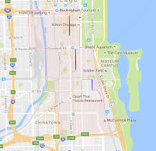 Chicago Ord Airport Map by How To Find Parking In The South Loop Easy Chicago Parking