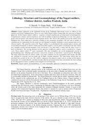 Case Study Essay Format Lithology Structure And Geomorphology Of The Nagari Outliers Chitto U2026