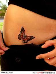butterfly on hip bone hip bone butterfly lovely four