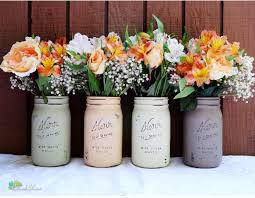 sweet and diy jar wedding centerpieces for you
