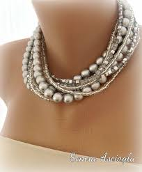 chunky pearl crystal necklace images 110 best timeless pearls images pearl necklaces jpg