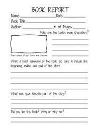 third grade book report template second grade book report template book report form for 2nd 3rd
