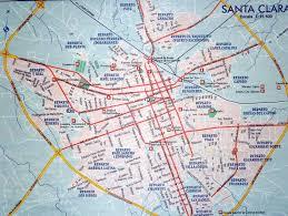Map Cuba Santa Clara Kuba Karte Landkarte Von Santa Clara Kuba Karibik