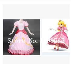 Princess Peach Halloween Costumes Buy Wholesale Princess Peach Costume China Princess