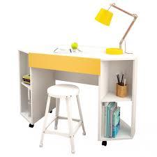 White Desk With Drawers On Both Sides Desks U0026 Hutches L Shaped Or Corner Desk Kmart