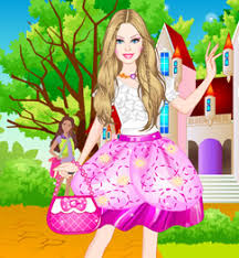 barbie princess charm dress play barbie games