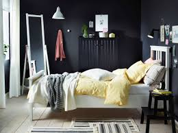 white bedroom furniture sets with textiles in and yellow combined