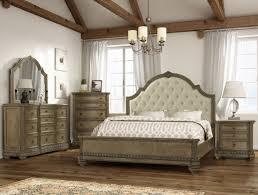 Fairmont Design Bedroom Set Touraine French Glazed Pecan Panel Bedroom Set From Fairmont
