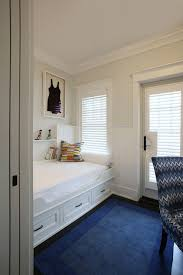 Cottage Wainscoting Built In Daybed Cottage Bedroom Asher Associates Architects