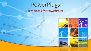 ppt templates for electrical engineering powerpoint template electricity generation and transmission with