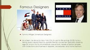 famous designers tommy hilfiger american designer as a