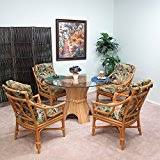rattan kitchen furniture amazon com rattan kitchen dining room furniture furniture
