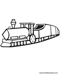 toy train coloring engine cars