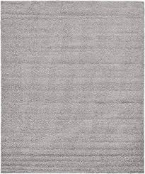 12 X 15 Area Rug Unique Loom Solid Shag Collection Cloud Gray 12 X 15