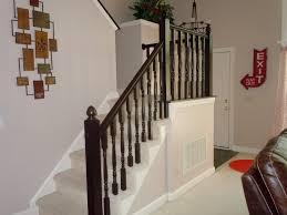 Banister Parts Remodelaholic Diy Stair Banister Makeover Using Gel Stain