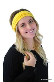 boho hair wrap boho wrap hair band fashion headband yellow