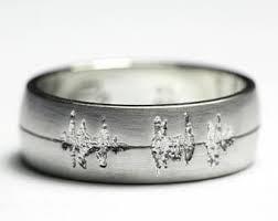 Personalized Wedding Band Mens Platinum Ring Etsy