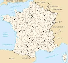 Dordogne France Map by