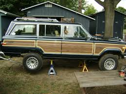 classic jeep wagoneer lifted 88 grand wagoneer build new jersey jeep association