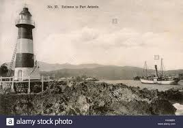 entrance to port antonio jamaica west indies with the folly