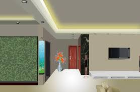 italian gypsum ceiling interior design for living room with