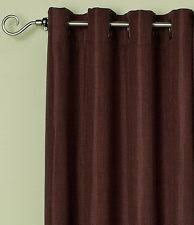 Alton Solid Grommet Window Curtain Panel Bed Bath U0026 Beyond Solid Polyester Curtains Drapes U0026 Valances Ebay
