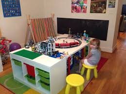 Lego Table Ikea by Table Top Using Ikea Trofast Google Search Toy Organization