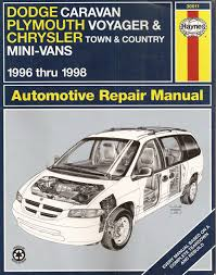 dodge caravan plymouth voyager chrysler town u0026 country mini vans