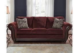 Maroon Living Room Furniture - chesterbrook sofa ashley furniture homestore