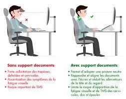 posture bureau support de documents quels bénéfices sur ma posture azergo