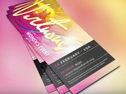 virtuous women church flyer flyer templates creative market