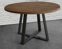 round oak kitchen table round wood outdoor table round kitchen table or cafe in reclaimed
