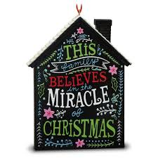 the miracle of house ornament keepsake