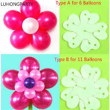 balloon sticks 10pcs lot balloon seal clip that combine 6 11 balloons to flower