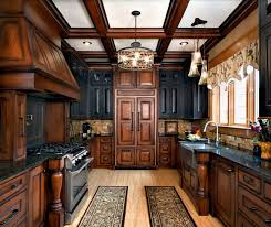 Black And Brown Kitchen Cabinets 20 Kitchens With Stylish Two Tone Cabinets