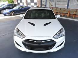 white 2013 hyundai genesis coupe 2013 hyundai genesis coupe 2 0t premium 2dr coupe in fort