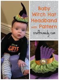 halloween baby witch headbands craft remedy