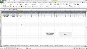 Spreadsheet For Inventory Prospect Baseball Cards Inventory Manager Excel Program