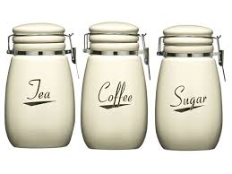 coffee kitchen canisters coronet kitchen ceramic storage canisters jars set tea