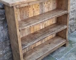 reclaimed wood bookcase reclaimed wood shelves shelves