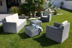 canapé d extérieur pas cher salon d extérieur pas cher ensemble de jardin table et chaises