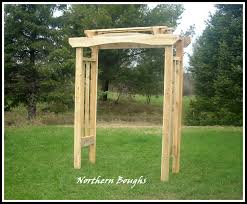 white cedar rustic wedding arch kit rustic wedding arch garden