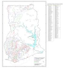 Map Of Ghana Minerals Concession Map Of Ghana