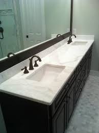 calacatta gold marble vanity contemporary vanity tops and side